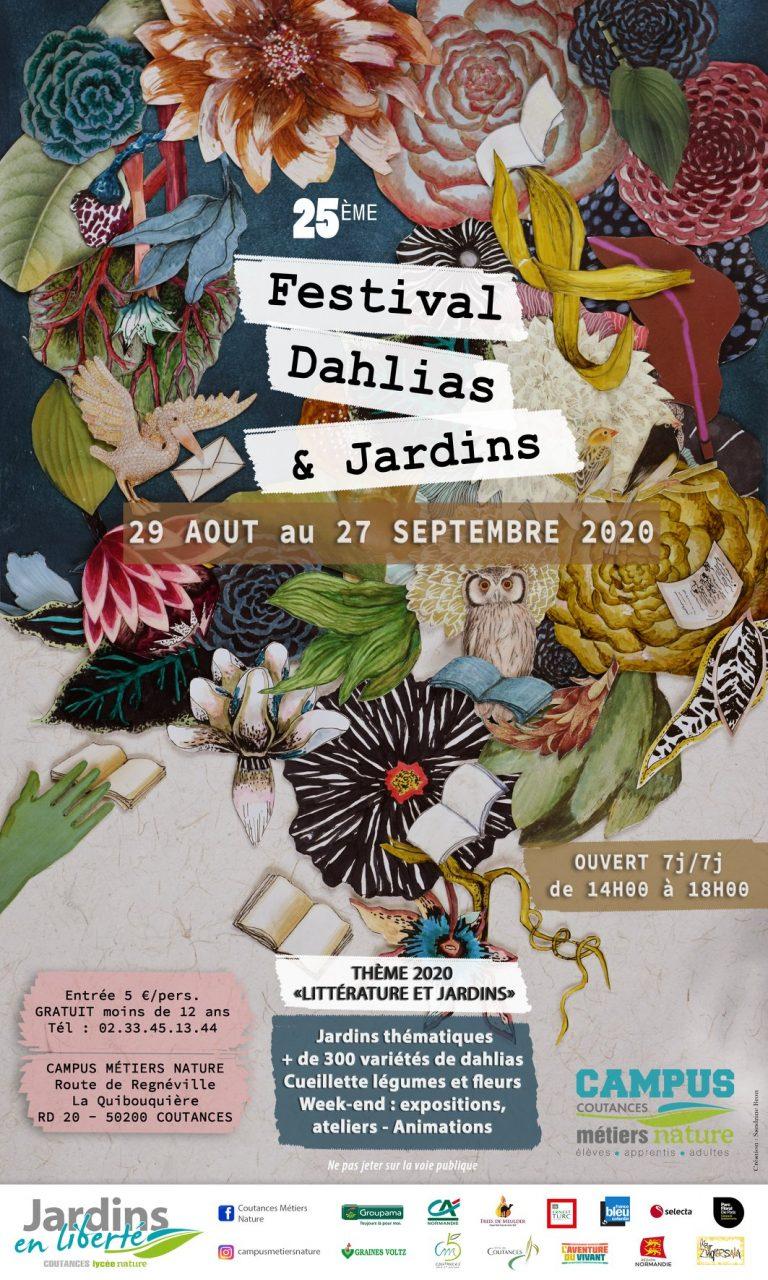 25ème FESTIVAL DES DAHLIAS & JARDINS