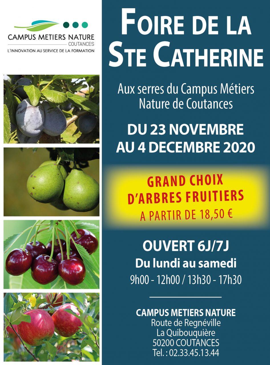 Foire de la Sainte Catherine – Du 23 novembre au 4 décembre 2020
