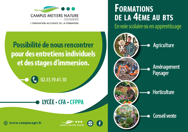 Entretien individuel et stage d'immersion possible