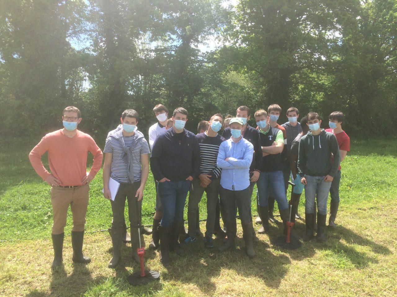 Les BTS ACSE approfondissent leurs connaissances sur la conduite de bovins au pâturage